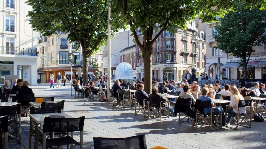 """Place d""""Erlon, em Reims (França) - Gregory Duval"""