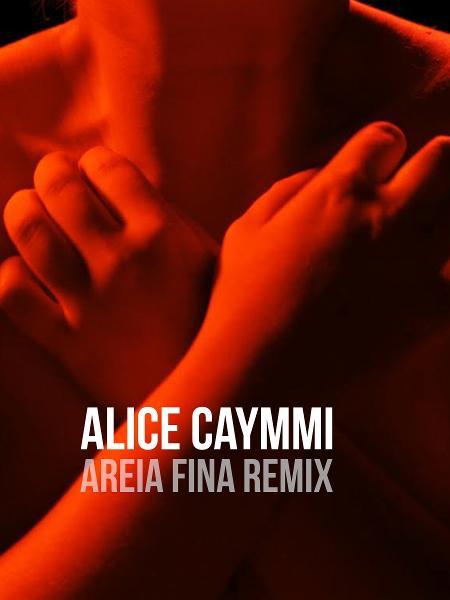 Capa do single de Alice Caymmi - Fernando Young/Divulgação