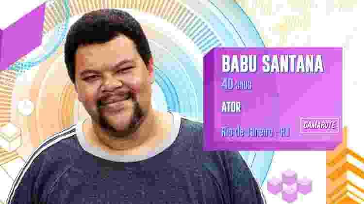Babu - Reprodução/TV Globo - Reprodução/TV Globo