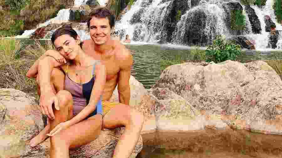 Manu Gavassi em foto com o namorado Igor Carvalho - reprodução/Instagram