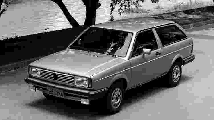 VW Parati - Divulgação - Divulgação