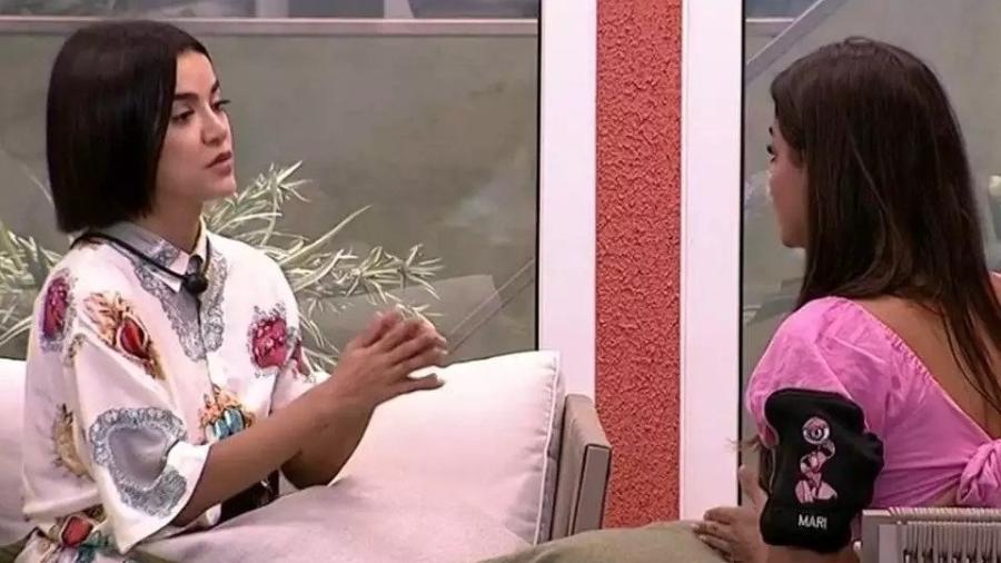 Manu e Mari tentam manter DR complicada no Big Brother Brasil. Mas aqui estão dicas para uma conversa mais eficiente - Reprodução/TV Globo
