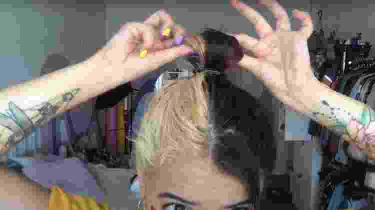coque bagunçado - foto 2 - Natália Eiras - Natália Eiras