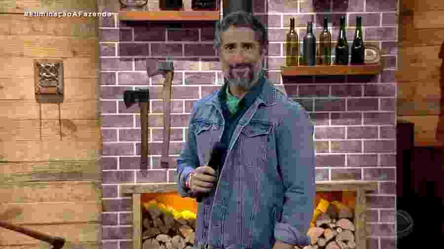A Fazenda 2020: Marcos Mion anuncia novo recorde no reality - Reprodução/RecordTV
