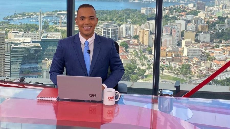Diego Sarza, apresentador da CNN Brasil - Instagram/Reprodução