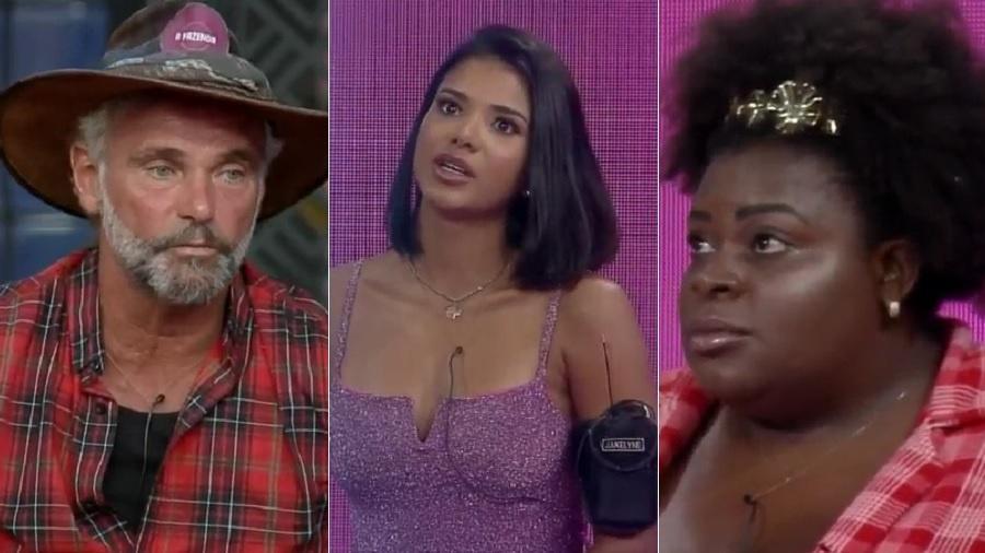 A Fazenda 2020: Peões discutem na formação da 12ª roça do reality da RecordTV - Reprodução/Playplus