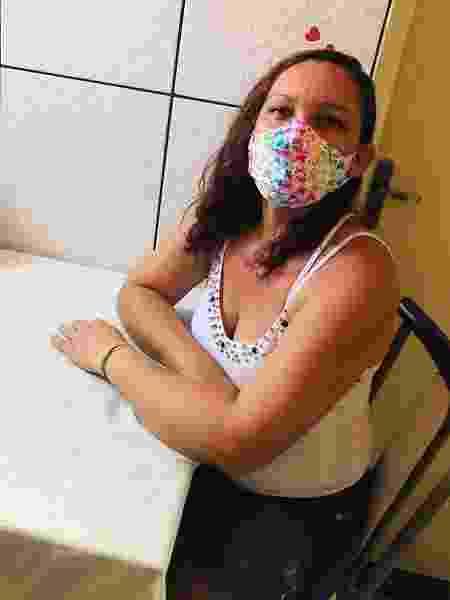 Carla Cristina é diarista e fala como foi o ano para trabalhadoras domésticas - Arquivo pessoal