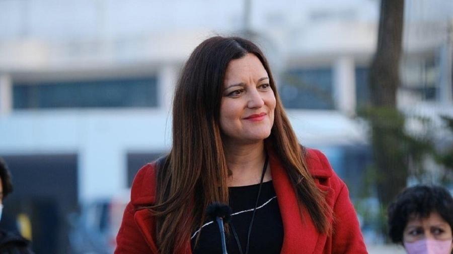 A candidata Marisa Matias, do Bloco de Esquerda. Ela concorre à presidência de Portugal - Reprodução/Instagram
