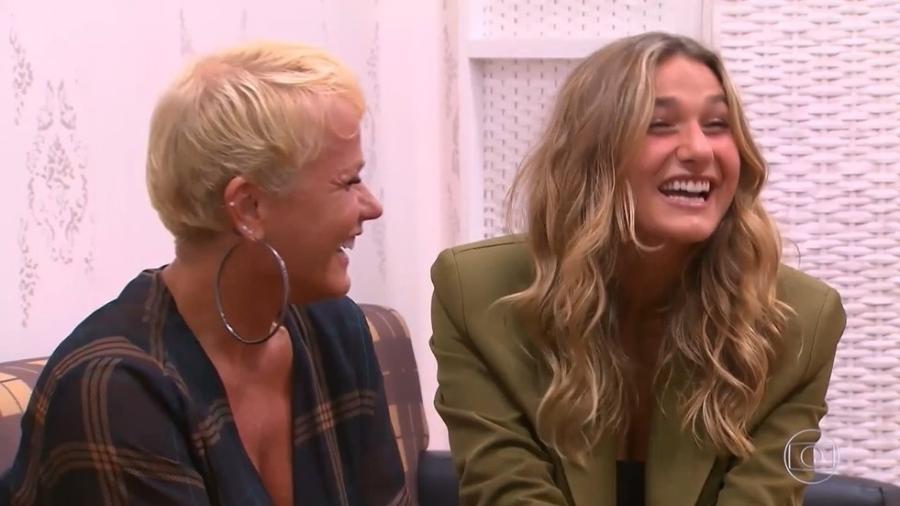 """Xuxa e Sasha no programa """"Caldeirão do Huck"""" - Reprodução Globo"""