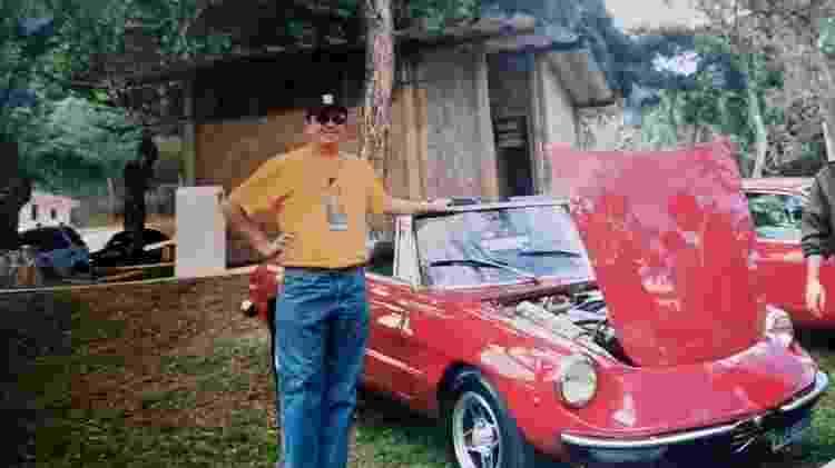 Robson Cotta, engenheiro da Stellantis há 39 anos - Acervo Pessoal - Acervo Pessoal