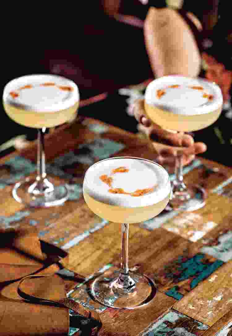 Pisco Sour, drinque típico no Chile - Shannon Sturgis - Shannon Sturgis