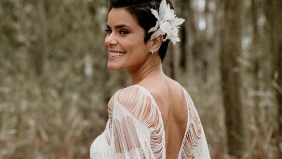 Bianka Fernandes anuncia casamento - Reprodução/Rodrigo Santos e Alyne Moro