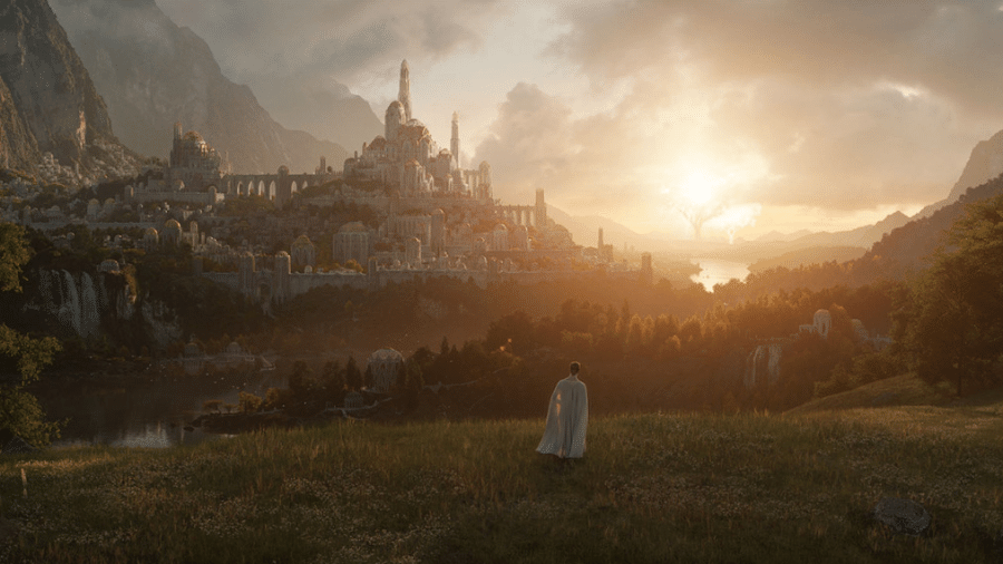 """Primeira imagem da série da Amazon baseada no mundo de """"O Senhor dos Anéis"""" - Divulgação"""