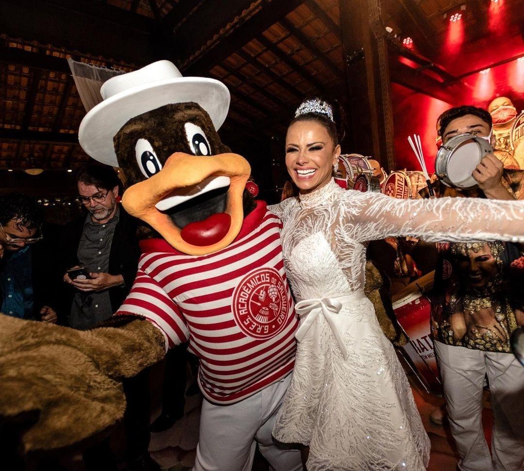 Viviane Araújo mostra detalhes de sua festa de casamento com Guilherme Militão