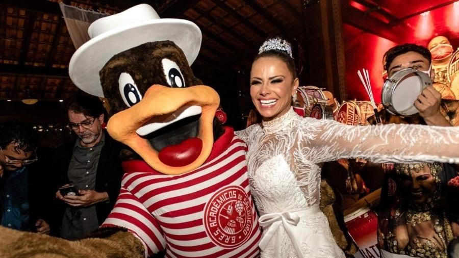 Viviane Araújo mostra mais fotos de sua festa de casamento com Guilherme Militão - Reprodução/Instagram