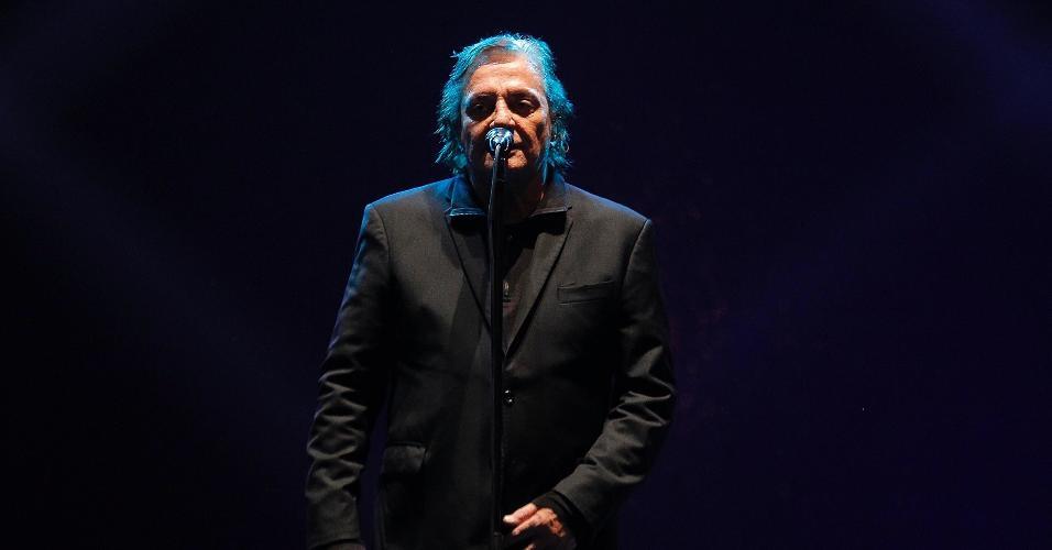 21.jun.2015 - Fábio Júnior se apresentou pela primeira vez na Virada Cultural de São Paulo. Durante o show, que aconteceu no Palco Júlio Prestes, no centro da cidade, o cantor recitou um poema da filha Cléo Pires