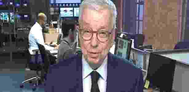 Renato Machado ainda como correspondente em Londres - Reprodução/TV Globo