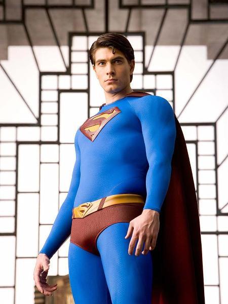 """O ator Brandon Routh em cena do filme """"Superman: O Retorno"""" - Divulgação/Warner Bros"""