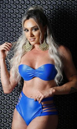 Juju Salimeni fez sucesso nos ensaios do Carnaval carioca com looks ousados