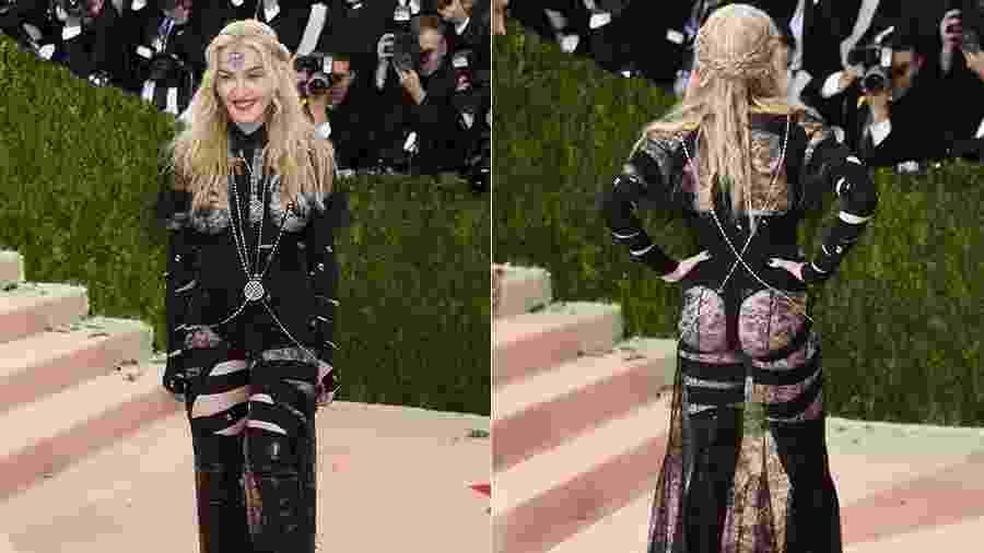 Madonna usa vestido Givenchy no tapete vermelho do baile do MET - Getty Images