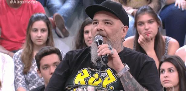 """João Gordo diz que pai o """"trancava por até 3 dias"""" para castigá-lo - Reprodução/TV Globo"""