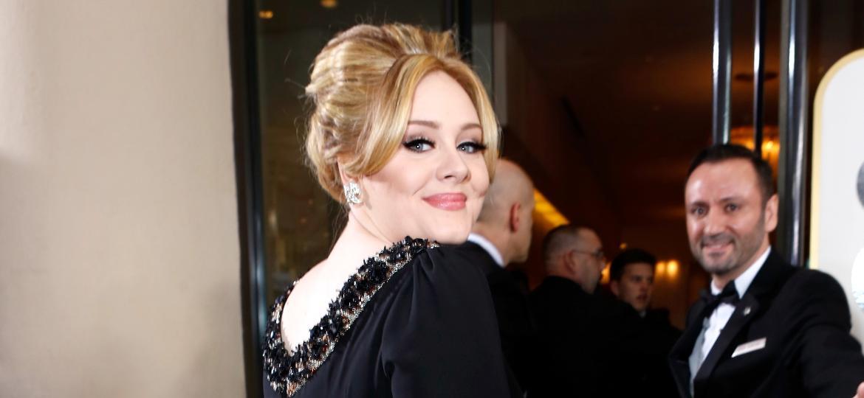 Adele no tapete vermelho Annual Golden Globe 2013 - Getty Images