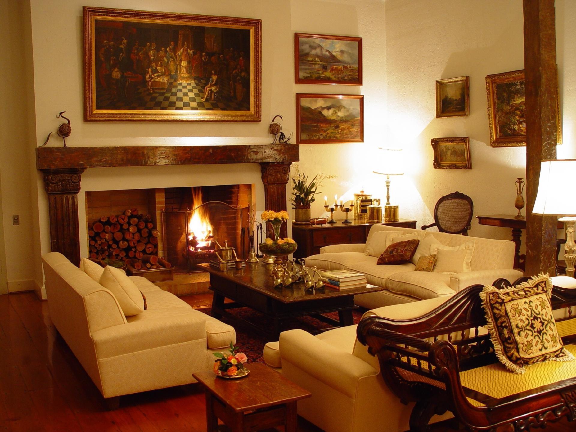 Salas De Estar Sugest Es Para Quem Tem Muito Ou Pouco Espa O Bol  -> Casa Sala De Tv Sala De Jantar A Fazenda