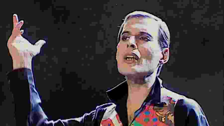 """Imagem do clipe de """"These Are the Days of Our Lives"""", do Queen, última gravação de Freddie Mercury - Reprodução"""