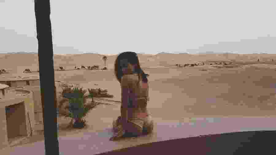 Anitta no Deserto do Saara - Reprodução/Instagram