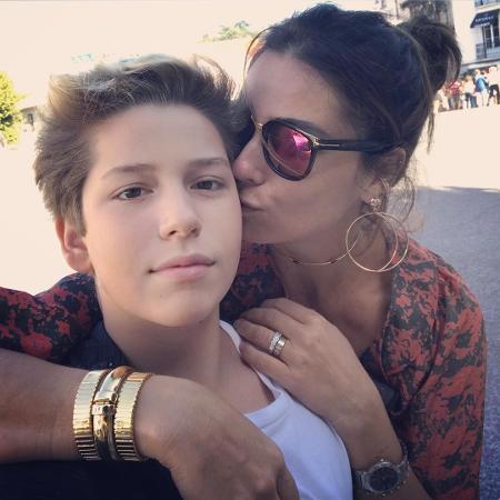 Giovanna Antonelli com o filho mais velho, Pietro - Reprodução/Instagram