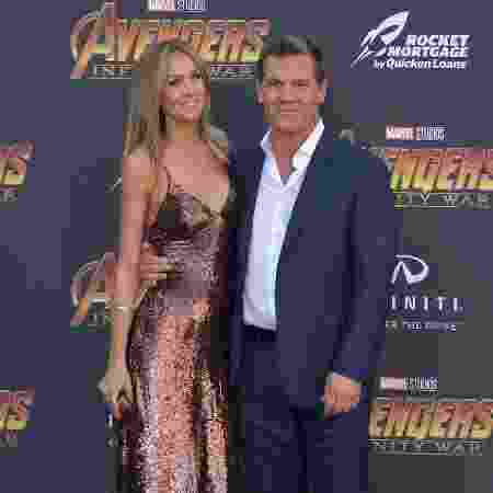 Kathryn Boyd e Josh Brolin - Getty Images