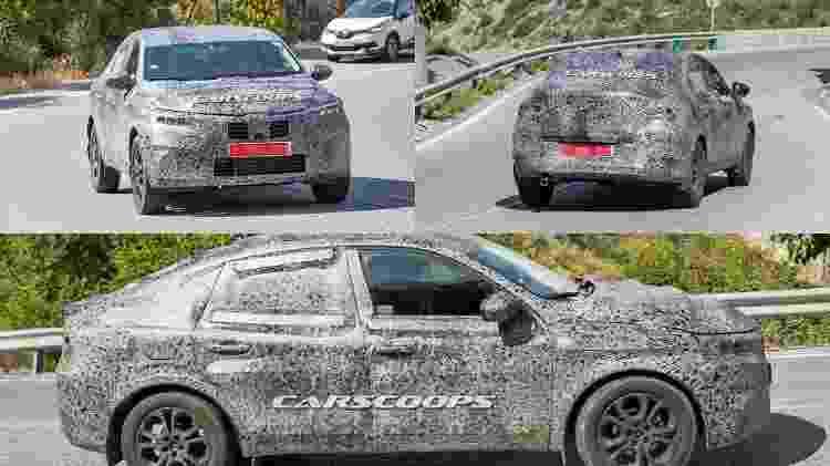 Renault SUV-cupê flagra - Carscoops - Carscoops