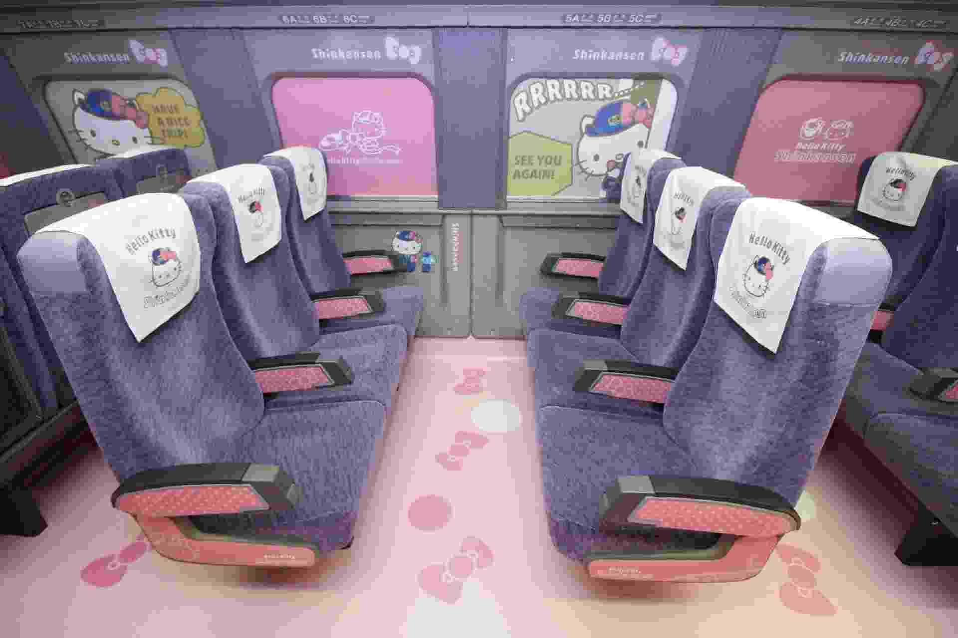 Trem-bala da Hello Kitty - AFP