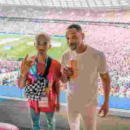 Jaden Smith e o pai, Will Smith - Reprodução/Instagram/willsmith - Reprodução/Instagram/willsmith