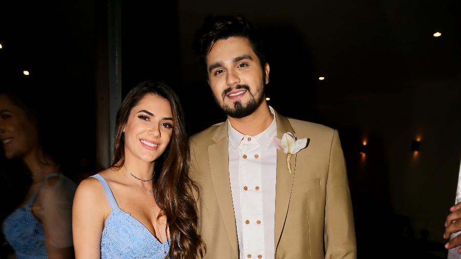 Luan Santana e a namorada Jade - Manuela Scarpa/Brazil News