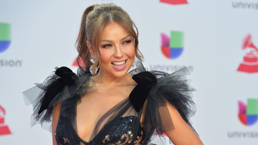 Thalia comparece a edição de 2018 do Grammy Latino em Las Vegas, nos EUA - Sam Wasson/AFP