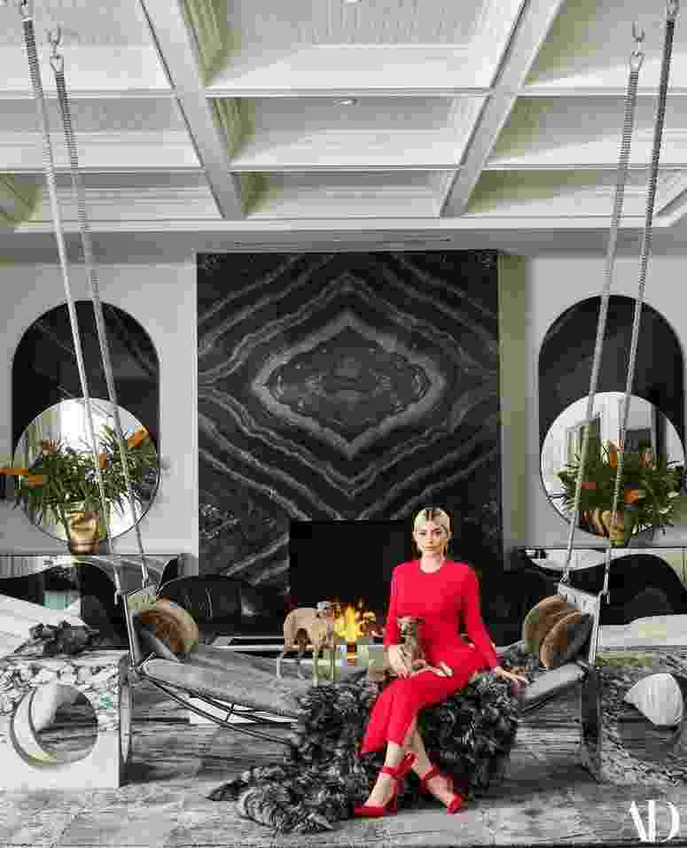 Mansão de Kylie Jenner - Douglas Friedman/Architectural Digest