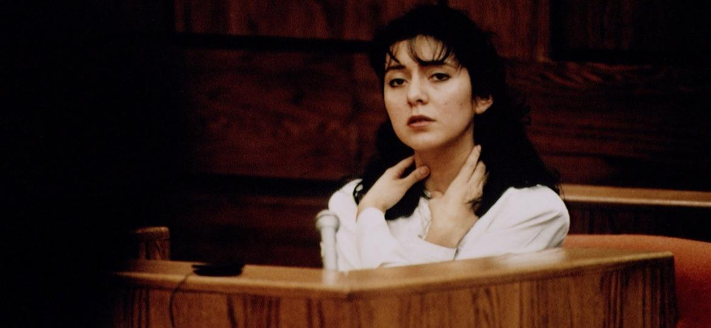 Lorena Bobbitt durante seu julgamento, em 1993 - Jeffrey Markowitz/Sygma via Getty Images