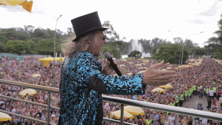 Bloco Bicho Maluco Beleza, de Alceu Valença, acontece no dia 15 de fevereiro, no Ibirapuera - André Lucas/UOL
