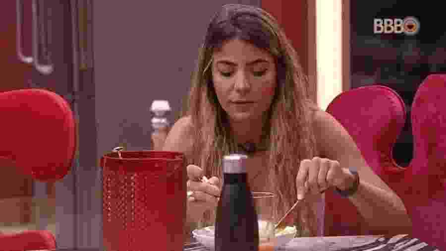 Hariany comenta paredão da semana - Reprodução/Globoplay