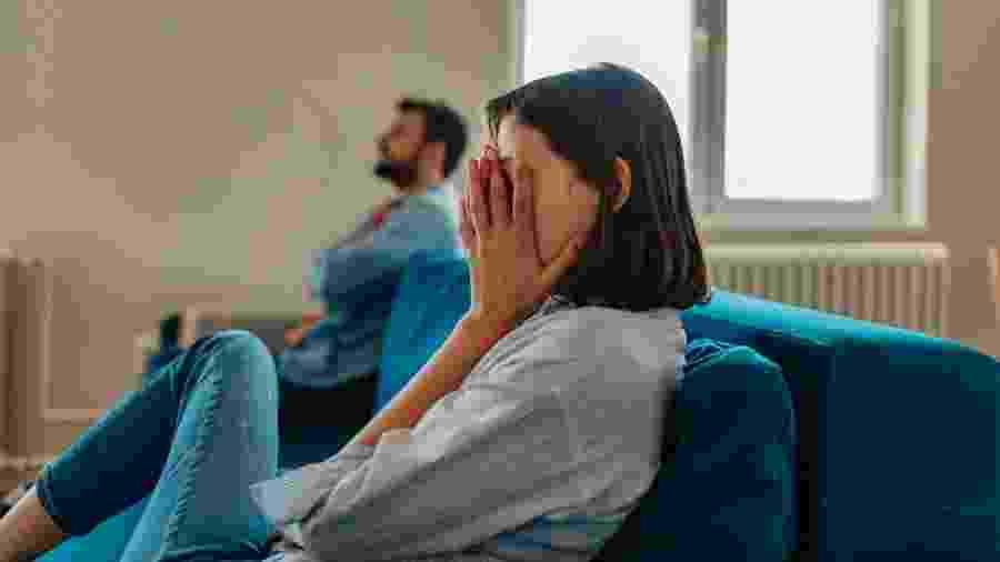 O objetivo da conversa entre o casal é superar o conflito que existe - Getty Images