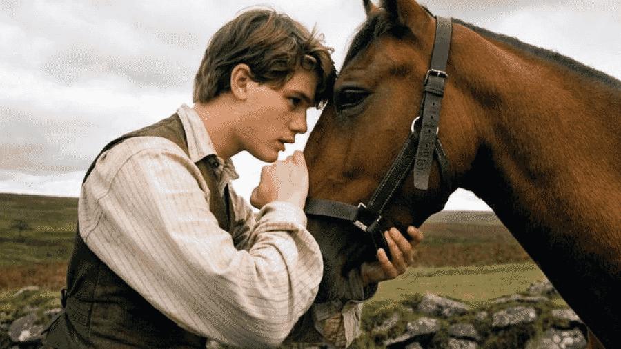 Cena do filme Cavalo de Guerra - Reprodução