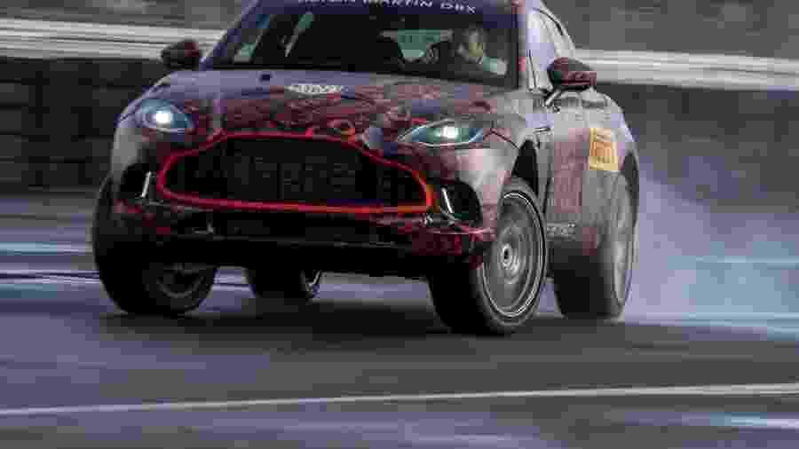 Aston Martin DBX - Divulgação