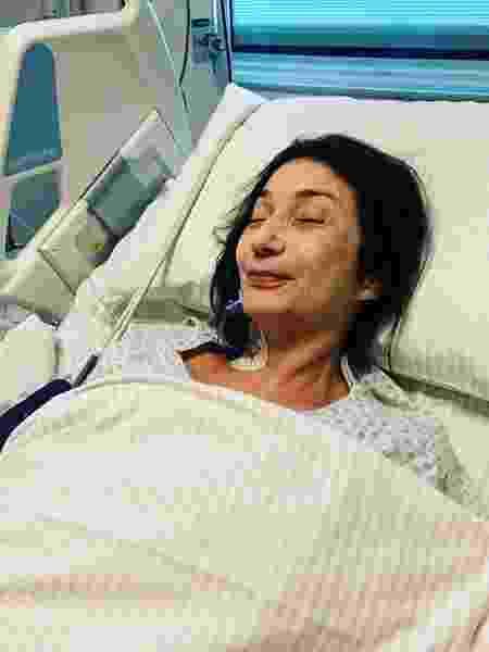 Zizi Possi se recupera de cirurgia na coluna - Reprodução/ Instagram