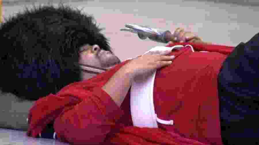 BBB 20: Babu volta a dormir no castigo - Reprodução/Globoplay