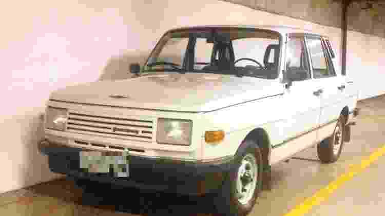 Wartburg 1988 coleção Flavio Gomes - Arquivo pessoal - Arquivo pessoal