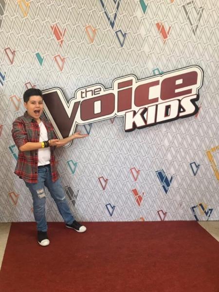Tuca Almeida, de 15 anos, participou do The Voice Kids - Reprodução/Instagram