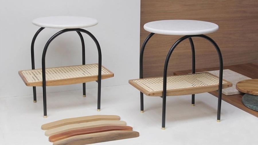 Obras em madeira de Lucas Lopes das Neves, da Arbol - Reprodução/Instagram