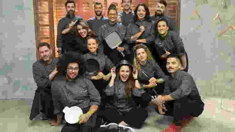 Participantes da segunda temporada do 'Top Chef', da Record - Antonio Chahestian/Record TV - Antonio Chahestian/Record TV