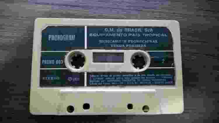 Chevette País Tropical Rafael Finardi Fita cassete - Reprodução - Reprodução